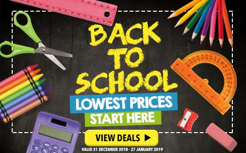 BACK TO SCHOOL LOWER PRICES START HERE