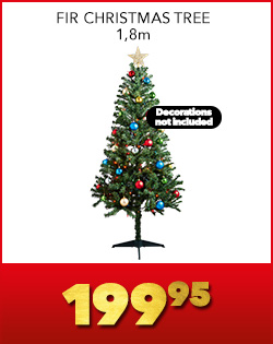 FIR CHRISTMAS TREE 1,8m, 199,95