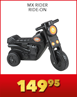 MX RIDER RIDE-ON, 149,95